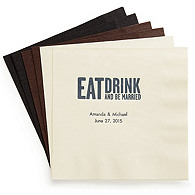 Personalized Quotable Napkins - Luncheon