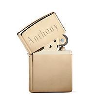 Zippo Gold Lighter