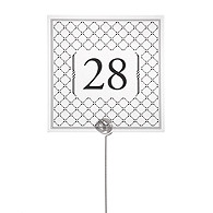 Table Number Cards - Diamond