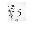 Table Number Cards - Foliage
