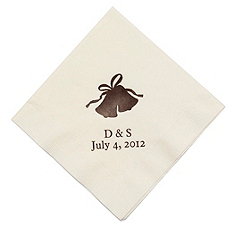 Personalized Napkins - DINNER (Bells)