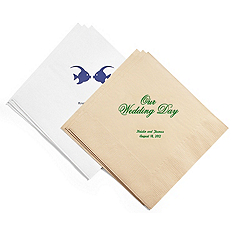 Personalized Eco-Friendly Napkins - DINNER
