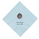Personalized Napkins - DINNER (Leaves)