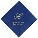 Personalized Napkins - DINNER (Monogram)