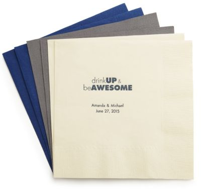 Personalized Quotable Napkins - Dinner