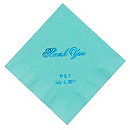 Personalized Napkins - DINNER (Thank You Classic)