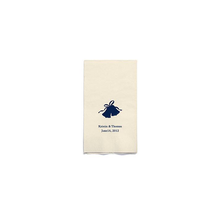 Personalized Napkins - GUEST TOWEL (Bells)