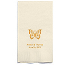 Personalized Napkins - GUEST TOWEL (Butterfly)