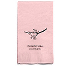 Personalized Napkins - GUEST TOWEL (Cherry Blossom)