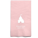 Personalized Napkins - GUEST TOWEL (Castle)