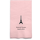 Personalized Napkins - GUEST TOWEL (Paris)