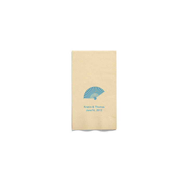 Personalized Napkins - GUEST TOWEL (Fan)