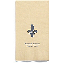Personalized Napkins - GUEST TOWEL (Flourish)
