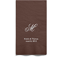 Personalized Napkins - GUEST TOWEL (Monogram)