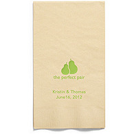 Personalized Napkins - GUEST TOWEL (The Perfect Pair)