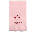 Personalized Napkins - GUEST TOWEL (Stars)