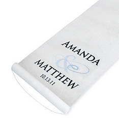 Personalized Aisle Runner - Flourish