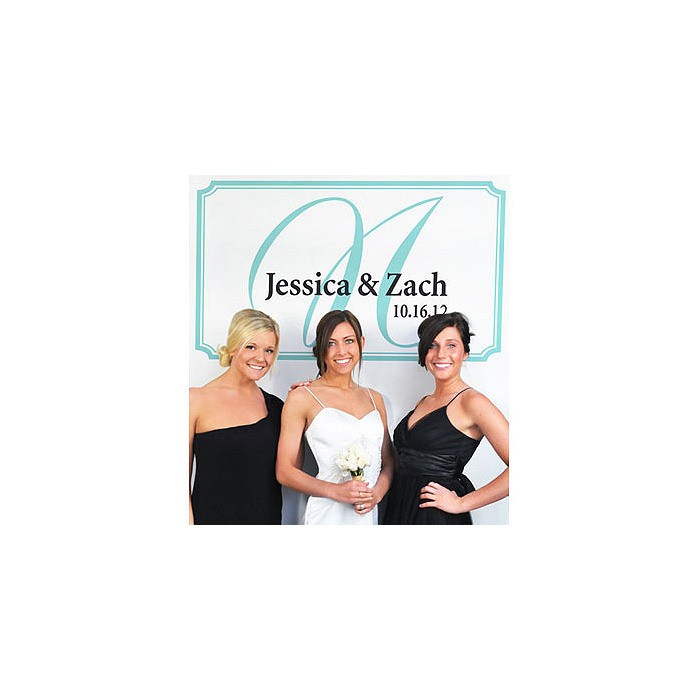 Personalized Photobooth Backdrop - Elegance