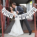 Just Married Handmade Sign
