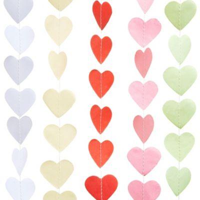 Mini Paper Heart Banner