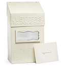 Vintage Mailbox Reception Card Holder