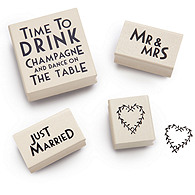 Wedding Rubber Stamps