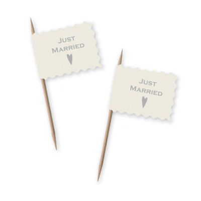 Just Married Flag Picks