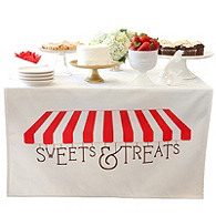 Sweets & Treats Table Banner
