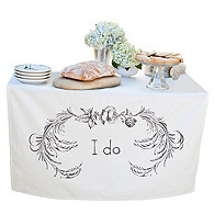 I Do Table Banner