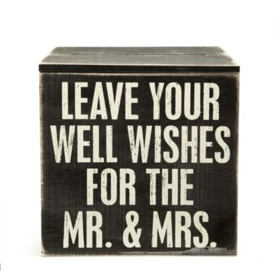 Card Box - Mr. & Mrs.