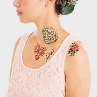 Tattly Tattoo Floral Set