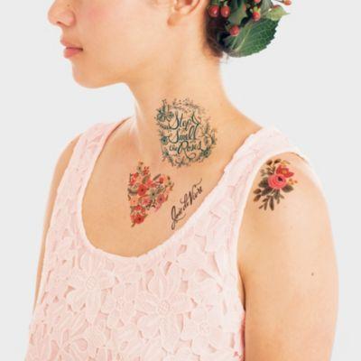 Tattly Tattoo Floral Set
