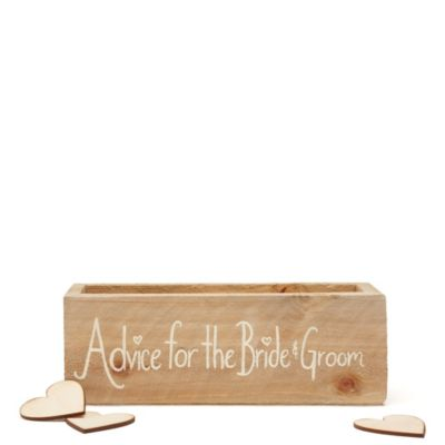 Advice for the Bride & Groom Guest Book