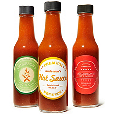 Personalized Hot Sauce