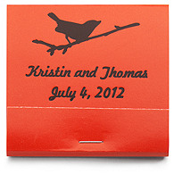 Personalized Matchbooks - Bird on Branch