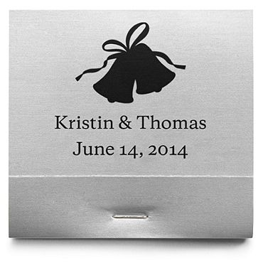 Personalized Matchbooks - Bells