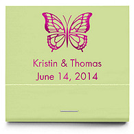 Personalized Matchbooks - Butterfly