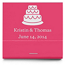 Personalized Matchbooks - Cake