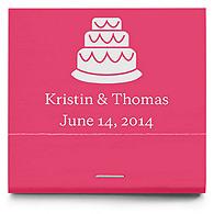 Personalized Matchbooks - Cake