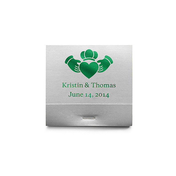 Personalized Matchbooks - Claddagh