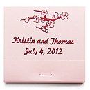 Personalized Matchbooks - Cherry Blossom