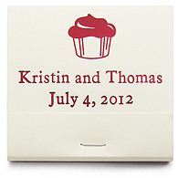 Personalized Matchbooks - Cupcake