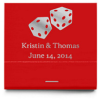 Personalized Matchbooks - Dice