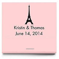 Personalized Matchbooks - Paris