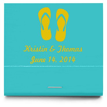 Personalized Matchbooks - Flip-Flops