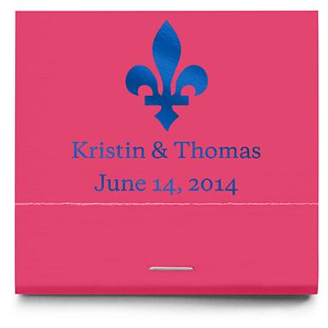 Personalized Matchbooks - Flourish