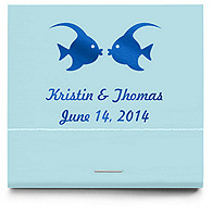 Personalized Matchbooks - Kissing Fish