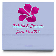 Personalized Matchbooks - Hibiscus