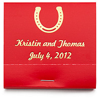 Personalized Matchbooks - Horseshoe