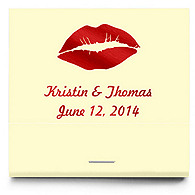 Personalized Matchbooks - Lips